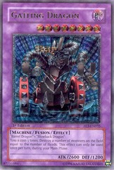 Gatling Dragon - Ultimate - FET-EN035 - Ultimate Rare - 1st