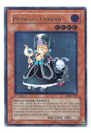 Princess Curran - Ultimate - SOI-EN028 - Ultimate Rare - 1st