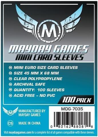 Mayday Games Mini Euro Card Sleeves 100ct