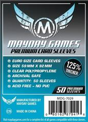 Mayday Games PREMIUM Euro Card Sleeves 50ct