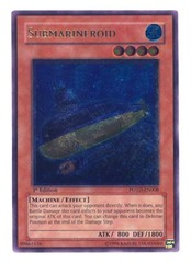 Submarineroid - Ultimate - POTD-EN008 - Ultimate Rare - 1st Edition