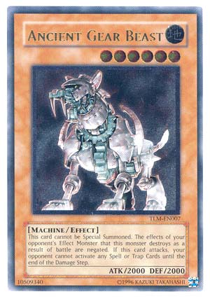 Ancient Gear Beast - TLM-EN007 - Ultimate Rare - 1st Edition