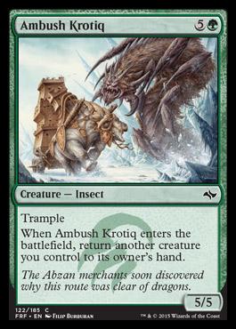 Ambush Krotiq - Foil