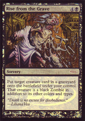 Rise from the Grave - Foil - WPN Promo