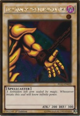 Left Arm of the Forbidden One - PGL2-EN025 - Gold Rare - 1st Edition