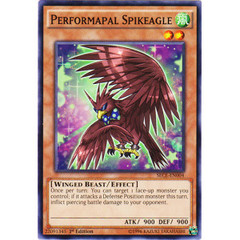 Performapal Spikeagle - SECE-EN004 - Common - 1st Edition