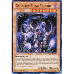 Caius the Mega Monarch - SECE-EN035 - Ultra Rare - 1st Edition on Channel Fireball