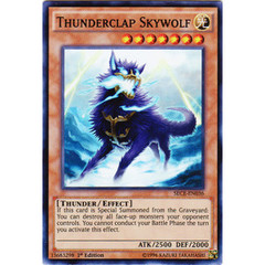 Thunderclap Skywolf - SECE-EN036 - Super Rare - 1st Edition