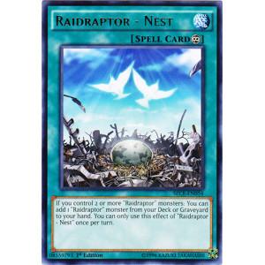 Raidraptor Nest Sece En054 Rare 1st Edition Yu