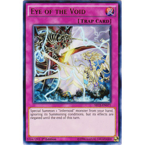 Eye of the Void - SECE-EN071 - Ultra Rare - 1st Edition