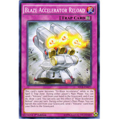 Blaze Accelerator Reload - SECE-EN077 - Common - 1st Edition on Channel Fireball