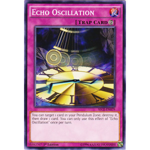 Echo Oscilation - SECE-EN079 - Common - 1st Edition