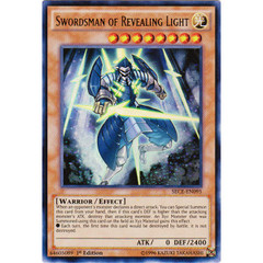 Swordsman of Revealing Light - SECE-EN095 - Ultra Rare - 1st Edition