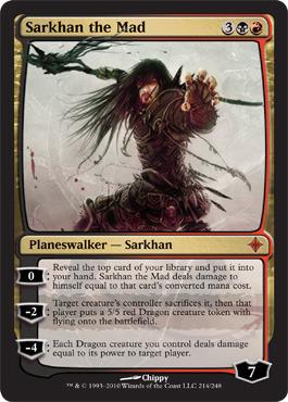 Sarkhan the Mad