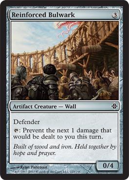 Reinforced Bulwark