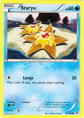 Staryu - 32/160 - Common on Channel Fireball