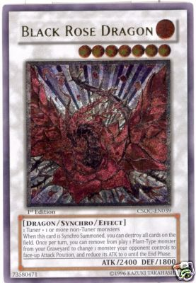 Black Rose Dragon - CSOC-EN039 - Ultimate Rare - 1st Edition