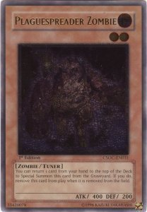 Plaguespreader Zombie - CSOC-EN031 - Ultimate Rare - 1st Edition
