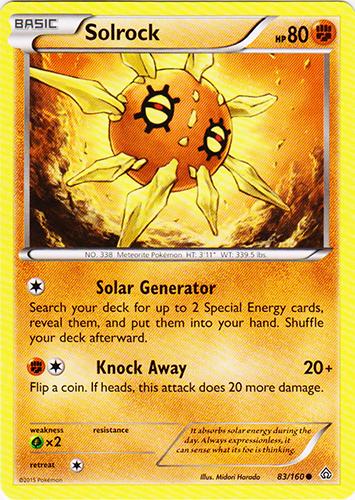 Solrock - 83/160 - Common