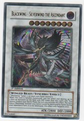 Blackwing - Silverwind the Ascendant - Ultimate - SOVR-EN041 - Ultimate Rare - 1st Edition on Channel Fireball