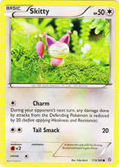 Skitty - 113/160 - Common