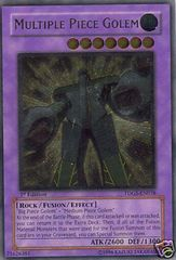 Multiple Piece Golem - TDGS-EN038 - Ultimate Rare - 1st Edition
