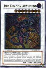 Red Dragon Archfiend - Ultimate - TDGS-EN041 - Ultimate Rare - 1st