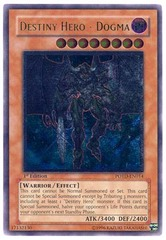 Destiny Hero - Dogma - POTD-EN014 - Ultimate Rare - 1st Edition
