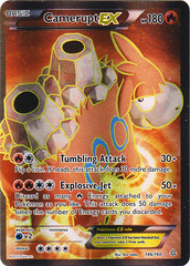 Camerupt-EX - 146/160 - Full Art