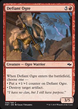 Defiant Ogre - Foil