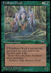 Fyndhorn Druid (Facing Front)