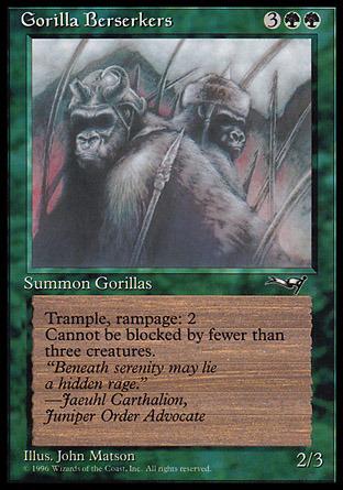 Gorilla Berserkers (Closed Mouth)