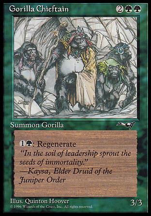 Gorilla Chieftain (4 Gorillas)