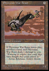 Phyrexian War Beast (Facing Right)