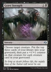 Grave Strength - Foil