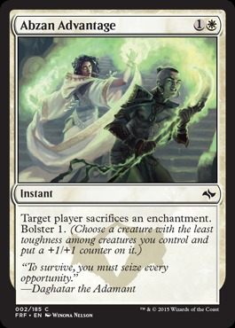 Abzan Advantage - Foil