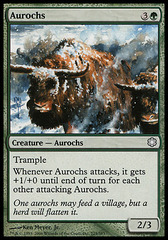 Aurochs on Channel Fireball