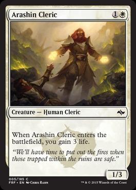Arashin Cleric - Foil