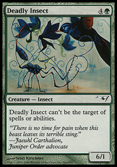 Deadly Insect on Channel Fireball