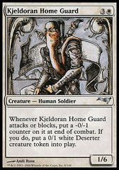 Kjeldoran Home Guard on Channel Fireball