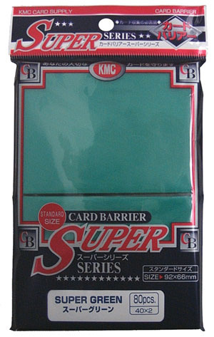 KMC Super Green Sleeves (80 ct)