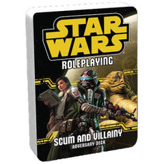 Star Wars Roleplaying Game: Scum and Villainy Adversary Deck