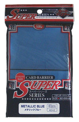 KMC Super Sleeves - Metallic Blue - 80ct
