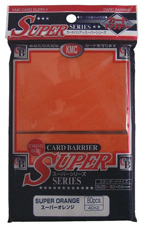KMC Super Orange Sleeves (80 ct)