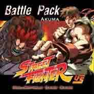 Street Fighter Akuma vs Ryu Battle Pack Box