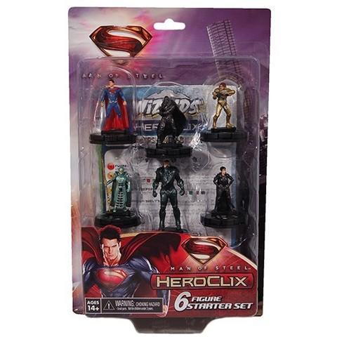 DC HeroClix: Man of Steel 6 Figure Starter Set