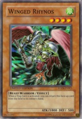 Winged Rhynos - FOTB-ENSE2 - Super Rare - Limited Edition