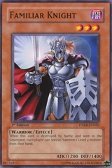 Familiar Knight - DPKB-EN020 - Common - 1st Edition