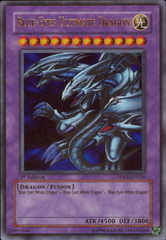 Blue-Eyes Ultimate Dragon - DPKB-EN026 - Ultra Rare - 1st Edition on Channel Fireball