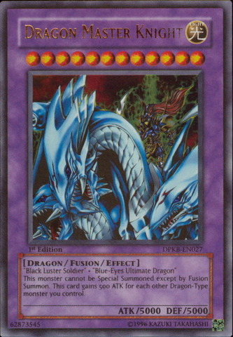 Dragon Master Knight - DPKB-EN027 - Ultra Rare - 1st Edition